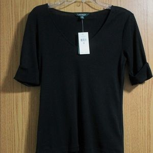 Black Ralph Lauren top